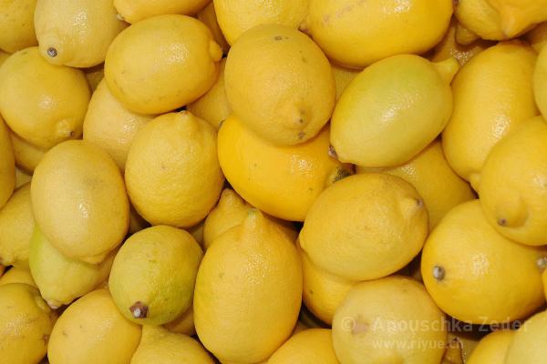 riyue Diätetik Zitronen