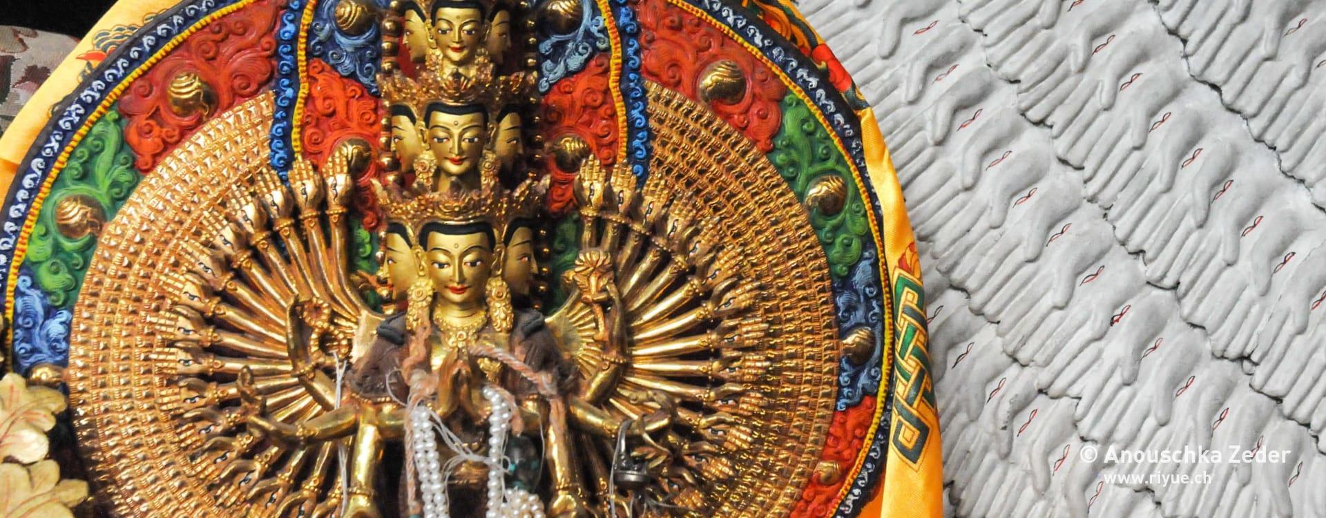 riyue – Moxa (Moxibustion) – Buddha Ladakh