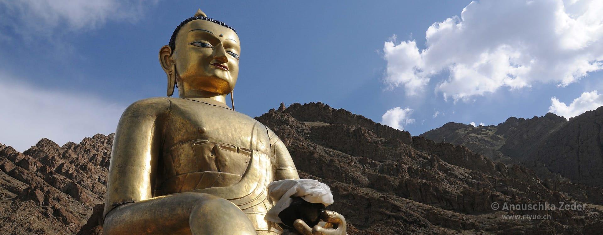 riyue – Schröpfen – Buddha Ladakh