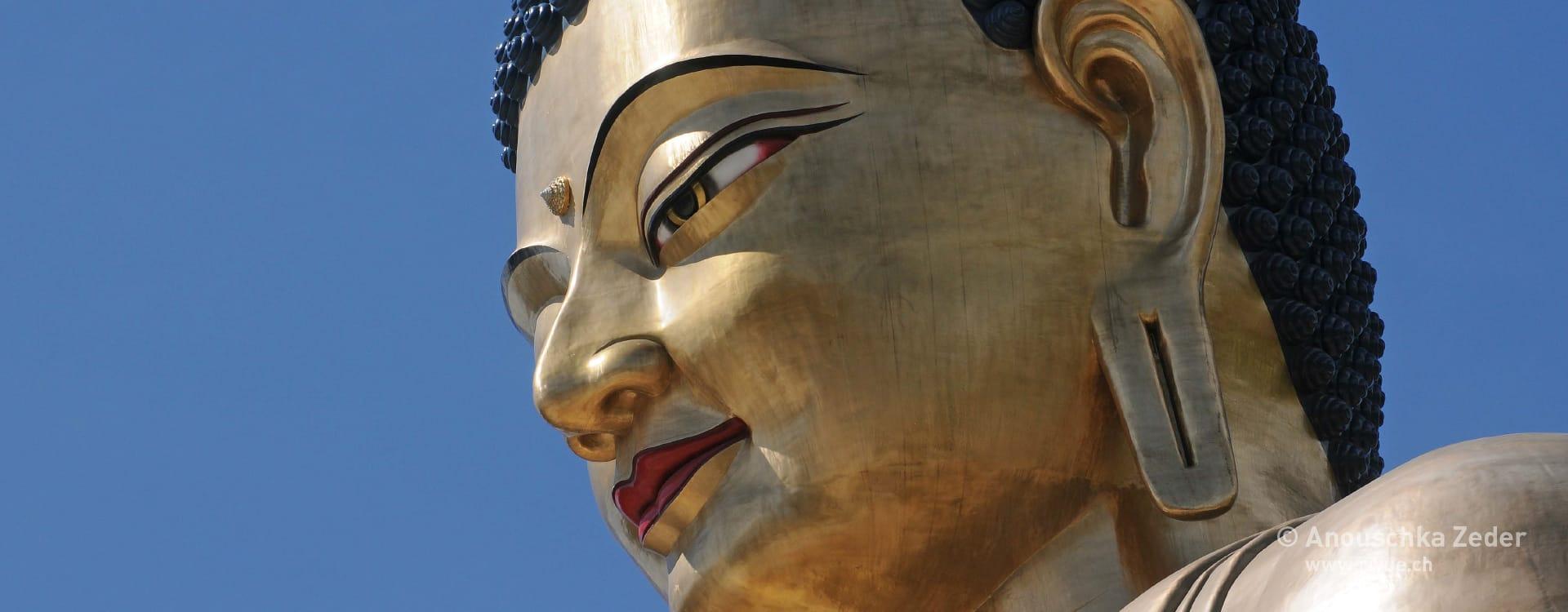 riyue – Zungendiagnose – Buddha Bhutan